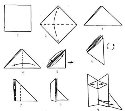 Вторая сказка оригами.